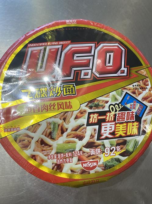 UFO Instant Noodles Shredded Artificial Pork Flav 鱼香肉丝