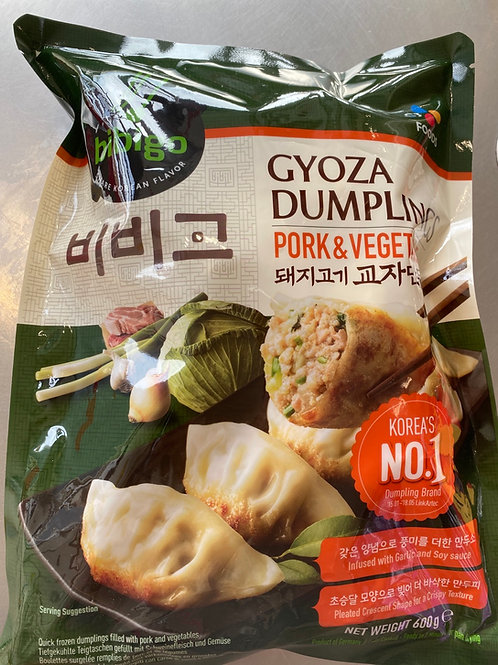 Bibigo Gyoza Dumpling Pork & Vegetable 600g