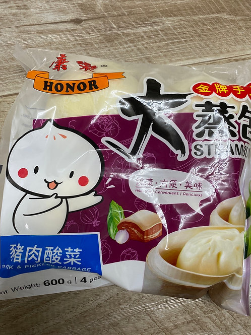 Honor pork and pickle cabbage bun