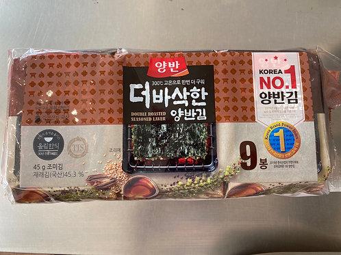 Korean Roasted Laver 5gx9pks