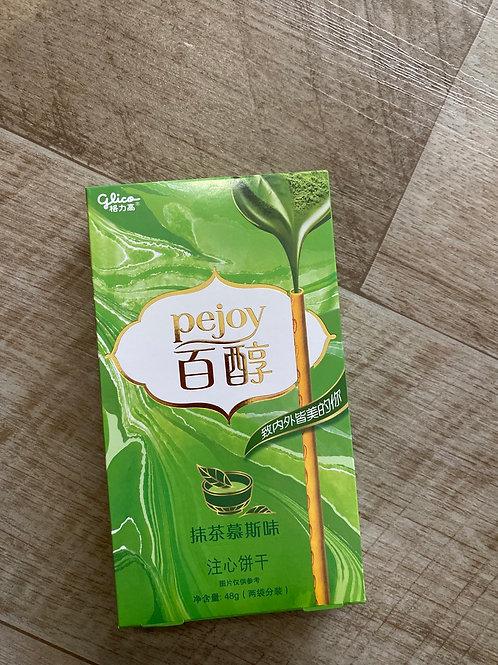 Pejoy Green Tea Flav Biscuits Stick