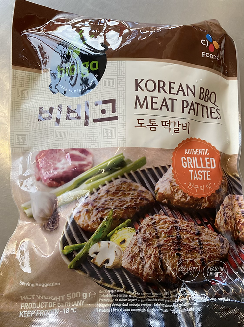 CJ Bibigo Korean BBQ Meat Patties 韩国烤肉
