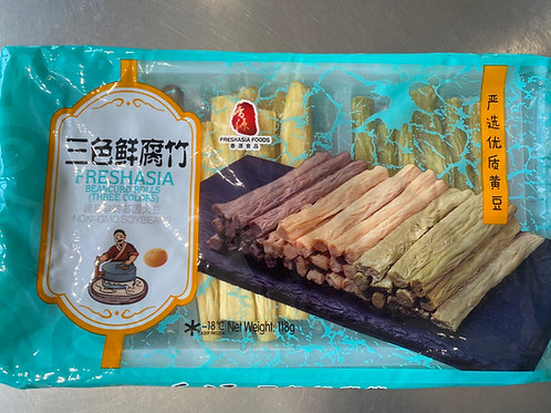 Freshasia Beancurd Rolls Three Color 香源三色鲜腐竹