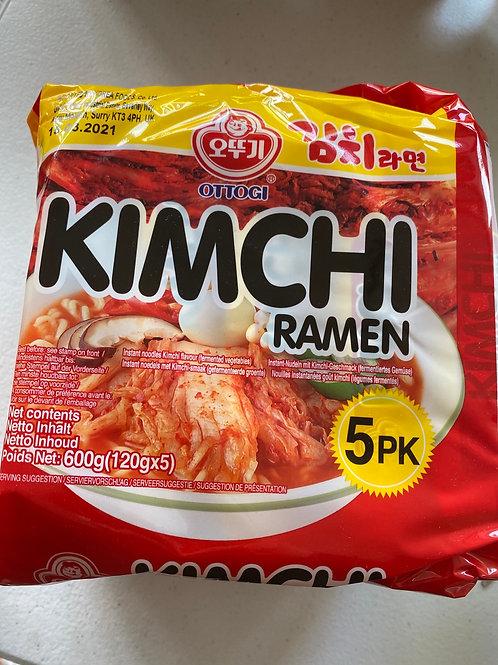 Ottogi Kimchi Ramen 120gx5pcs