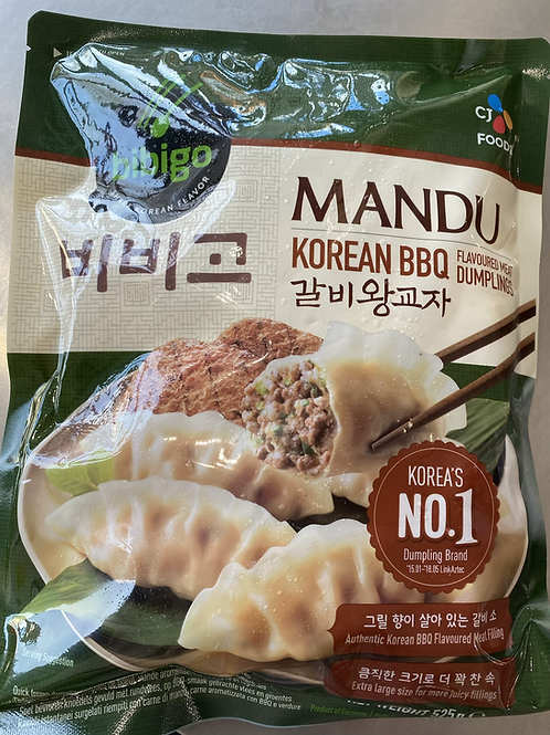 Bibigo Mandu Korean BBQ Flav Meat Dumplings