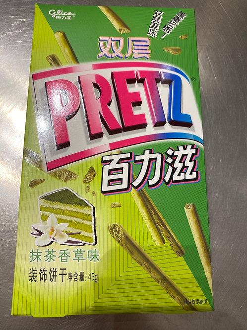 Glico Preztz Matcha Vanilla Flav