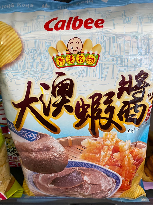 Calbee Shirmp Paste Crisps