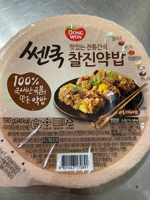 Korean Cooked Flav Glutinous Rice 190g