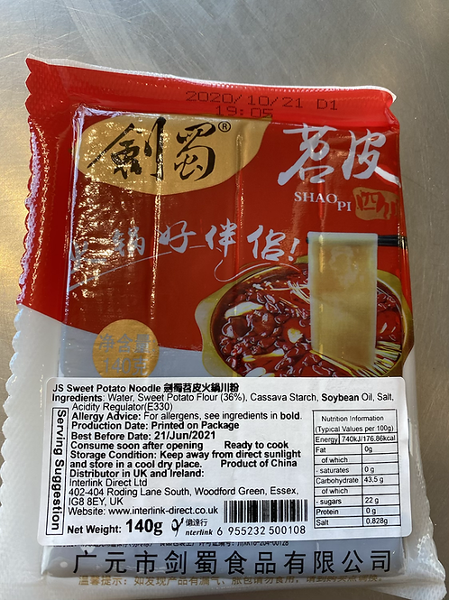 JS Sweet Potato Noodle For Hot Pot 苕皮