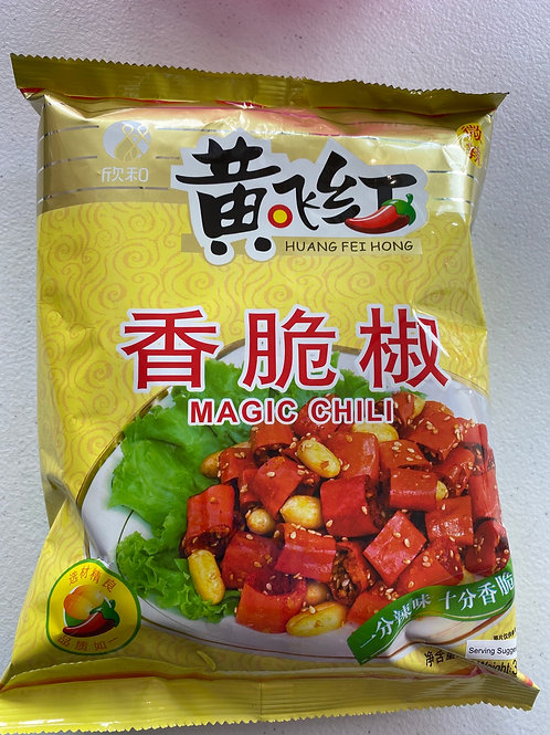 HFH Chilli With Peanuts 黃飛紅香脆椒308g