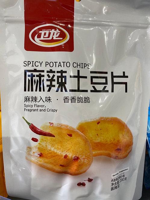 WL Spicy Potato Chips