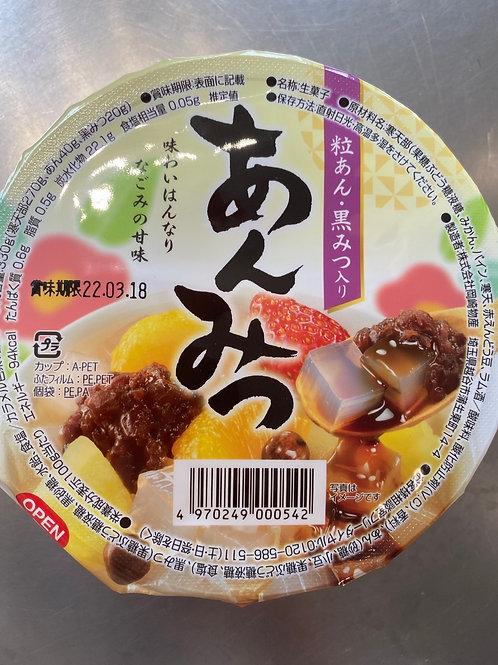 Okazaki Sweet Bean Fruit Dessert Anmitsu Flav 岡崎物产日式甜品蜜豆水果