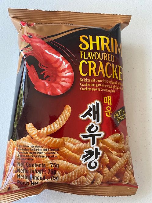 Nongshim Shrimp Flav Cracker Hot & Spicy 75g