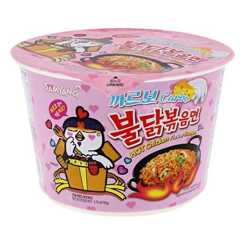 Samyang Hot Chicken Carbonara Bowl 105g