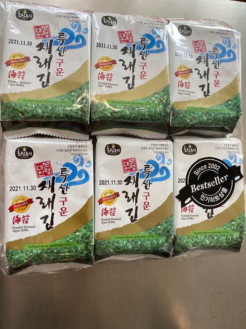 Choripdong Korean Roasted Laver 12x5g
