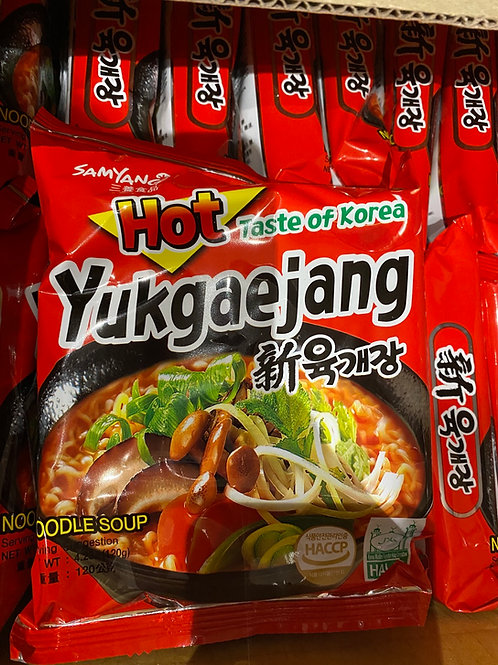 Yukgaejang Mushroom Instant Noodle