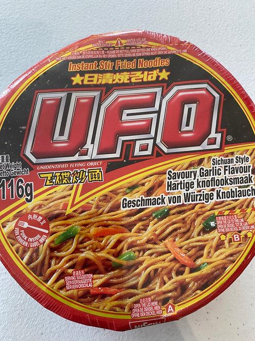 UFO Instant Stir Fried Noodle Sichuan Flav116g