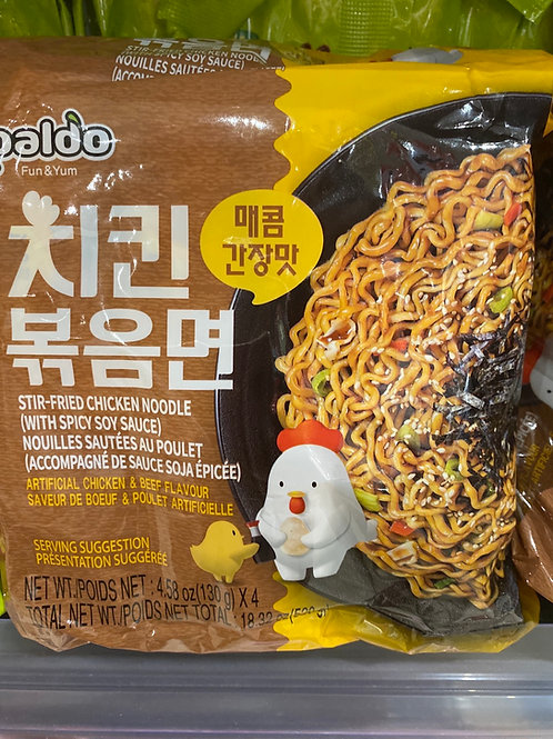 Paldo Stir-fried Chicken Noodle