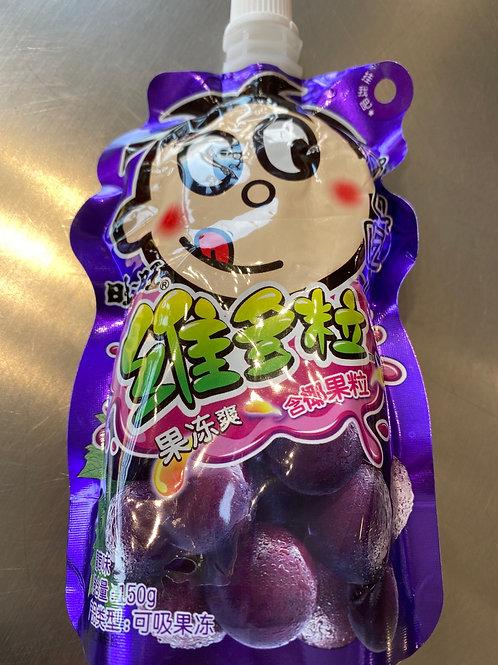 WW Fruit Jelly Grape 维多粒葡萄