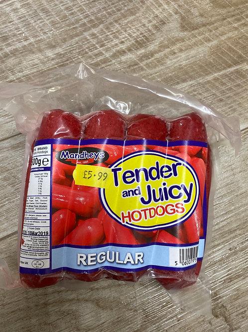 Tender and Juicy Hot dog