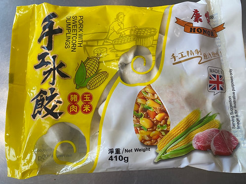Honor Pork With Sweet Corn Dumplings 康乐猪肉玉米水饺