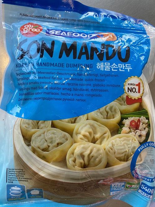 Allgroo Seafood Son Mandu 韩国海鲜蒸饺540g