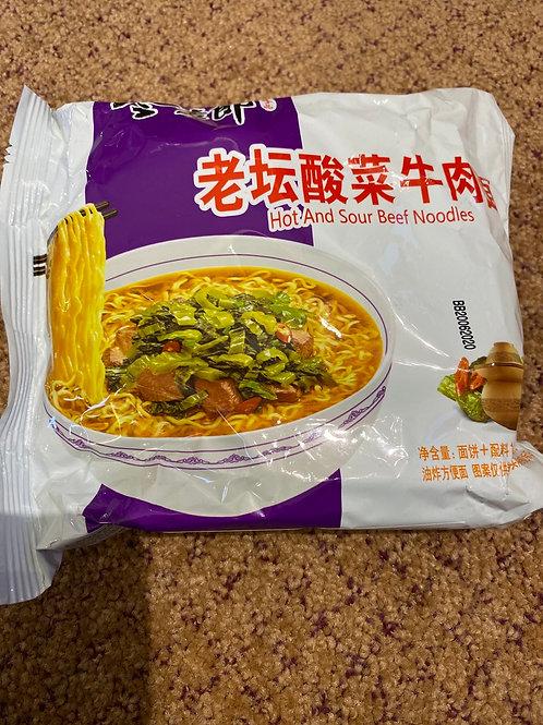 JML Instant Noodles Hot and Sour Flavour
