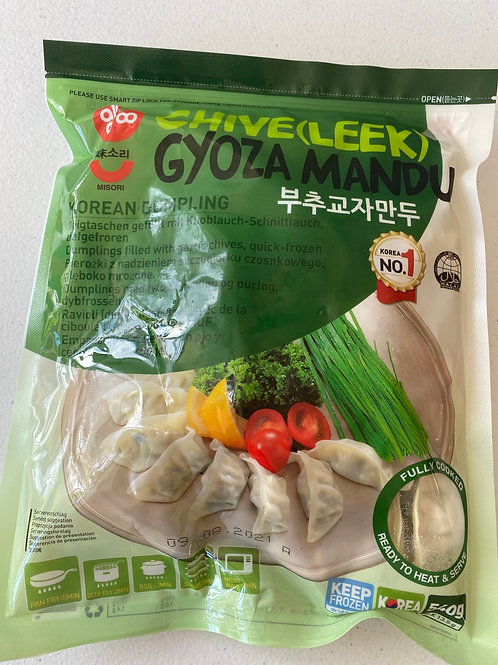 Allgroo Korean Chive (Leek) Gyoza Mandu 540g