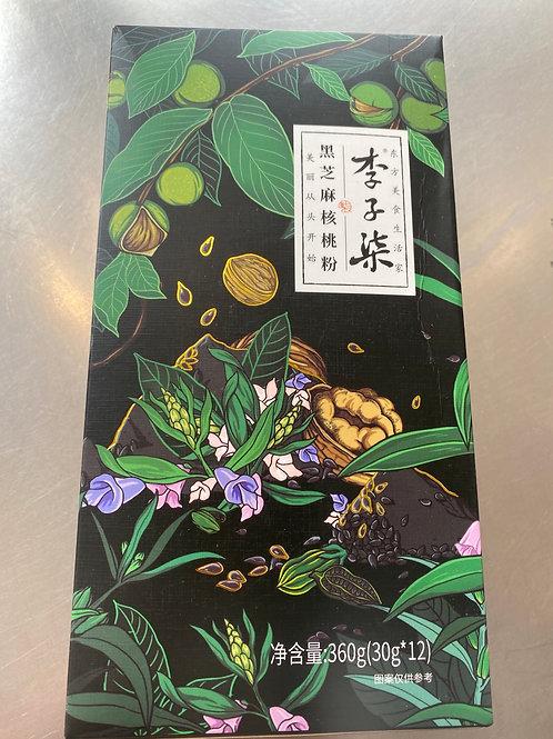 Liziqi Sesame And Walnut Powder Mixed 李子柒黑芝麻核桃粉 360g