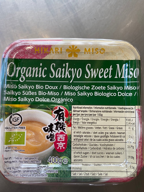 Hikari Miso Organic Saikyo Sweet Miso 有机西京味噌400g