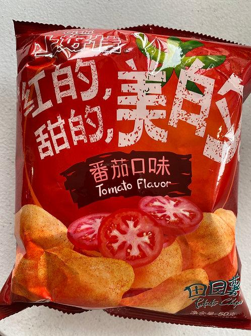 Oishi Potato Chips Tomato Flav 上好佳番茄口味