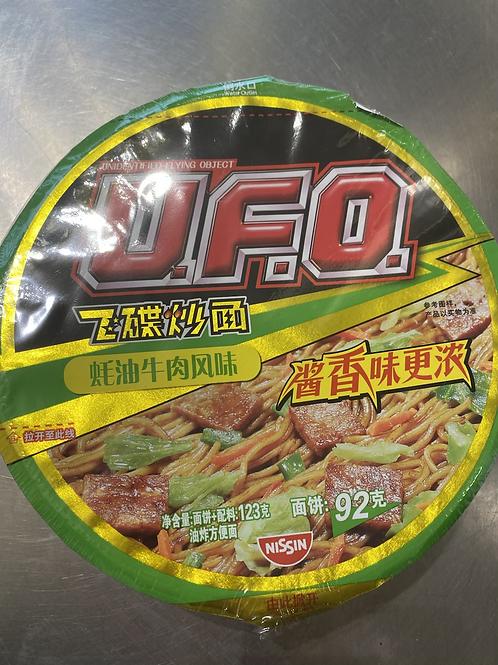 UFO Nissin Instant Noodles - Oyster Beef Flav蚝油牛肉风味