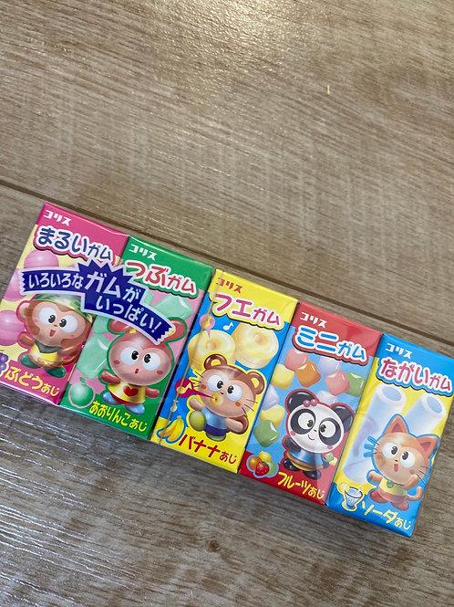 Gum Gum5 Assorted Chewing Gum, 38g