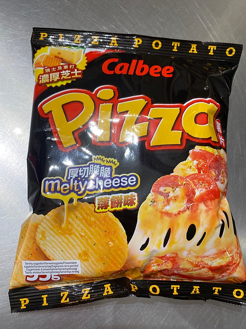 Calbee Potato Crisps Pizza 卡樂B 薄餅味 55g