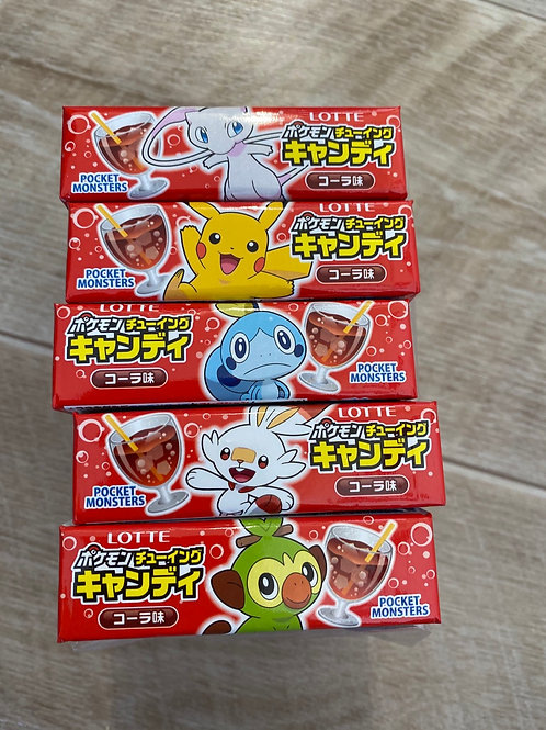 Lotte Pokemon Chewing Candy, Cola, 20g
