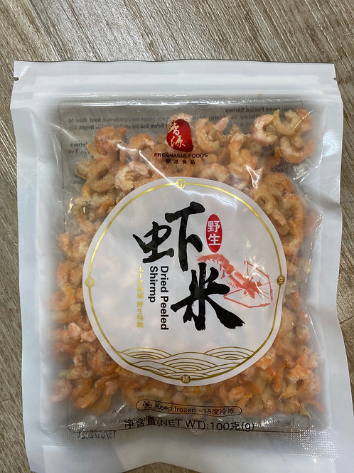 Dried Peeled Shrimp 虾米