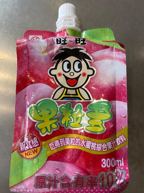 WW Peach Flav Juice Drink 旺旺果粒多水蜜桃