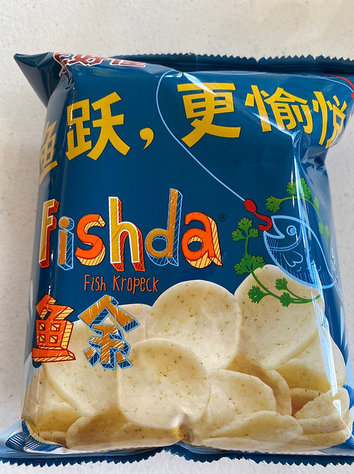 Oishi Fishda Fish Kropeck 上好佳魚余