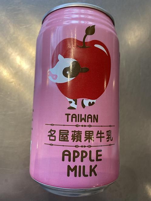 Taiwan Apple Milk名屋苹果牛乳