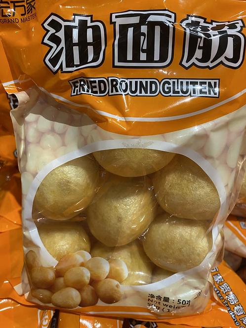Fried Round Gluten 油面筋