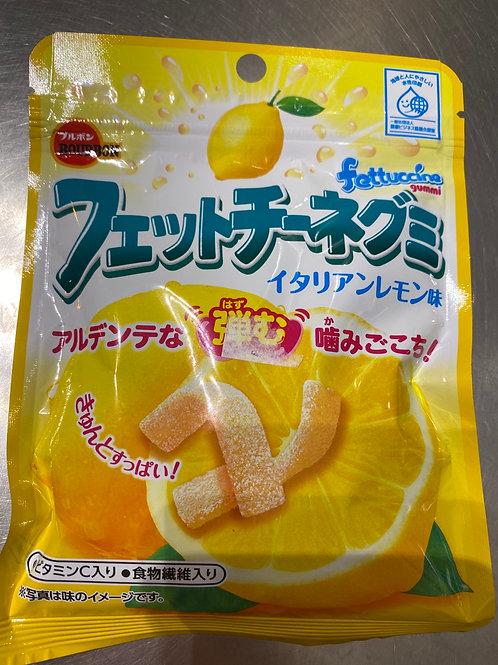Bourbon Fettuccine Lemon Gummy Candy