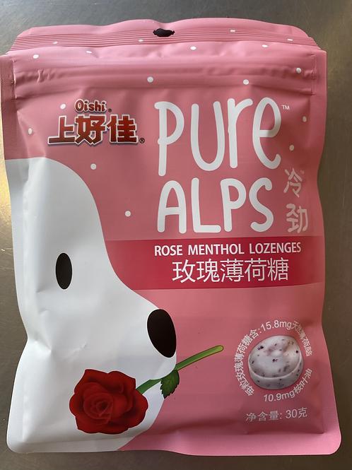 Oishi Rose Menthol Lozenges 玫瑰薄荷糖