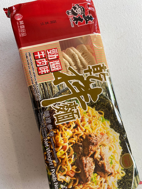 WM Dried Noodle With Beef Flav Sauce五木劲酱牛肉味