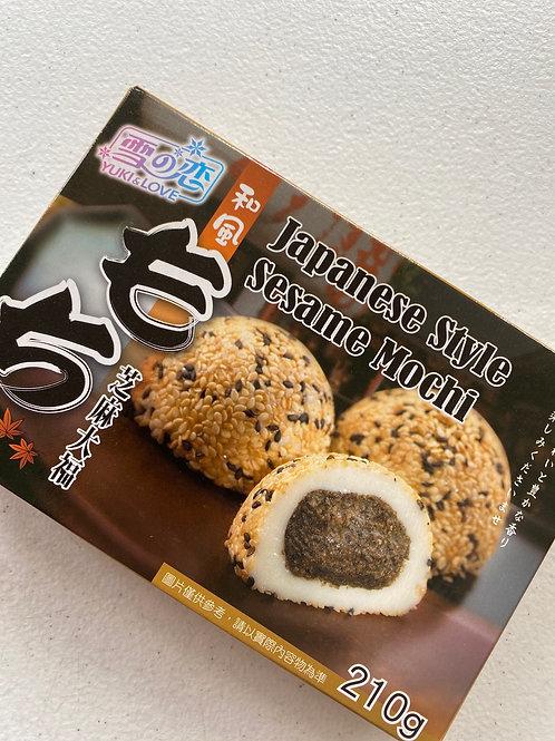 Y&L Japanese Style Sesame Mochi 日式芝麻大福