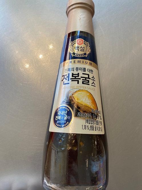 Beksul Premium Abalone Oyster Sauce 350ml 鲍鱼汁