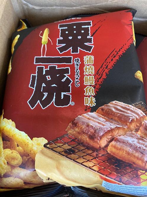 Calbee Grill A Corn Eel Kabayaki Flav 粟一燒鰻魚味