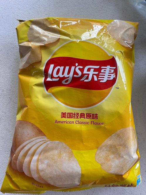 Lay's American Classic Flav Crisps樂事美國經典原味