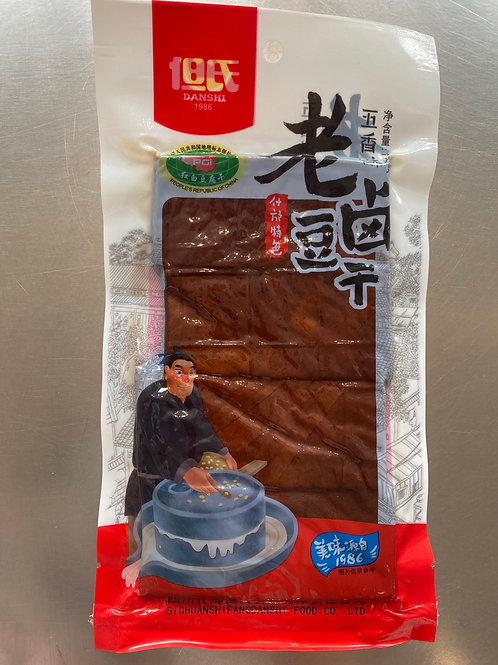 DS Marinated Beancurd Five Spicy Flav 180g 但氏老卤豆干五香味