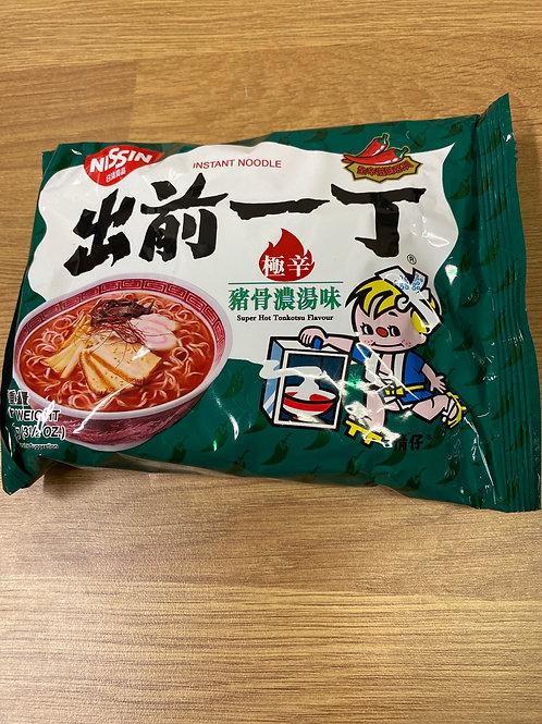 Nissin Instant Noodle Super Hot Tonkotsu Flavour