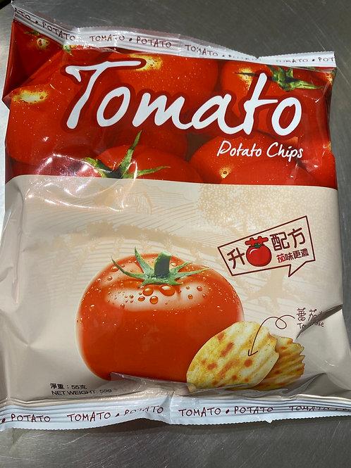 Calbee Potato Crisps Tomato Flav 卡樂B 香草番茄味